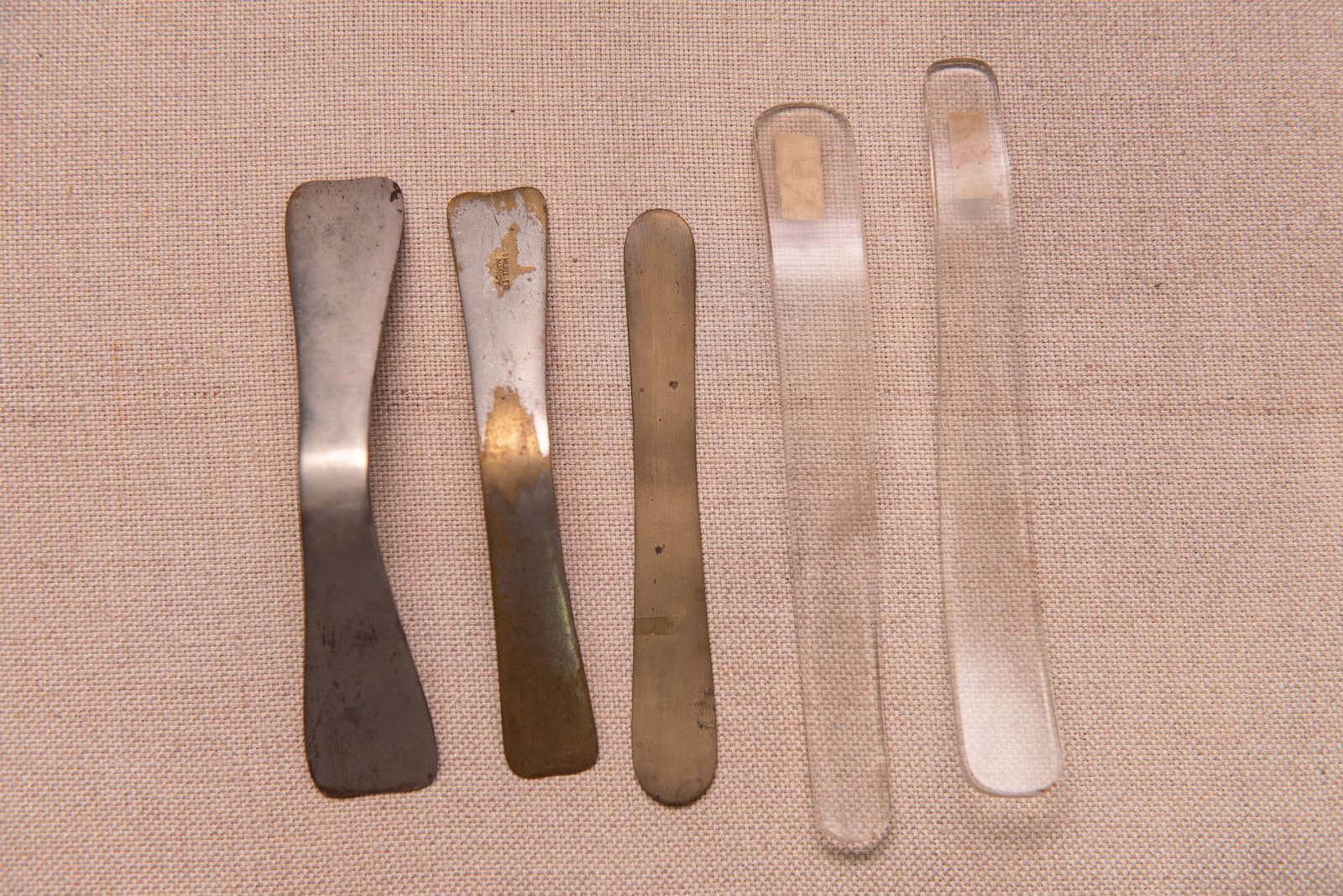 Muzei84_Шпатули от края на 19-ти век и началото на 20-ти век