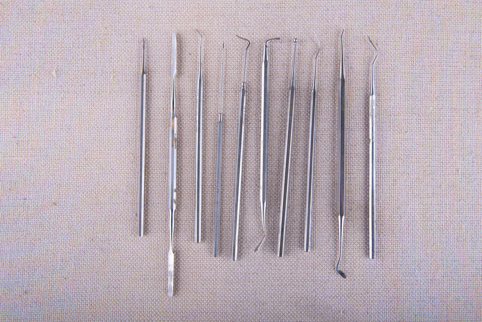 Muzei253_Зъболекарски инструменти и материали