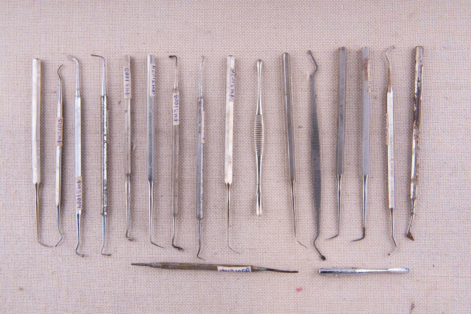 Muzei276_Дребен зъболекарски инструментариум