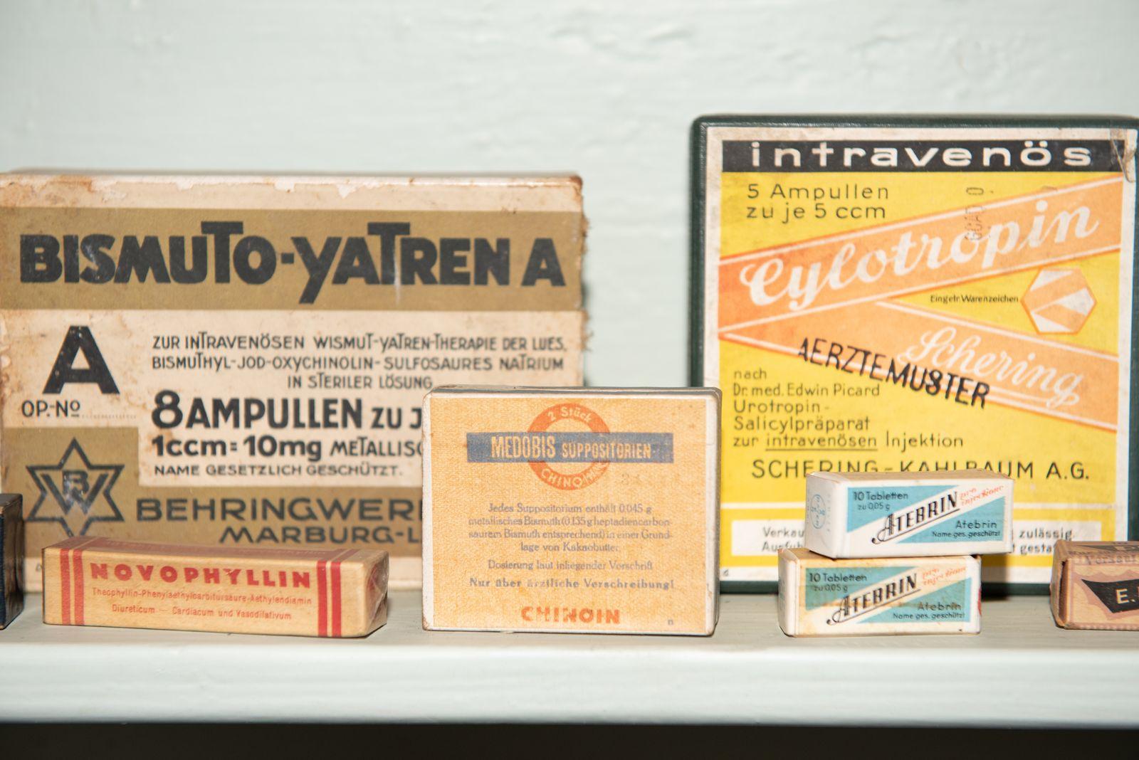 Muzei146_Лекарствени препарати от първата пол. на 20-ти век