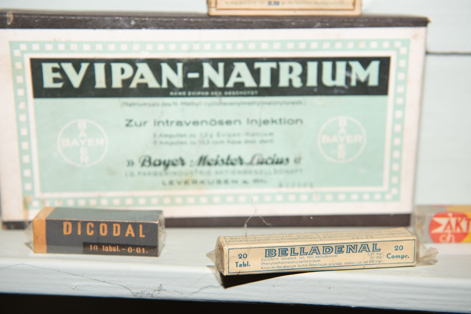 Muzei150_Лекарствени препарати от първата пол. на 20-ти век