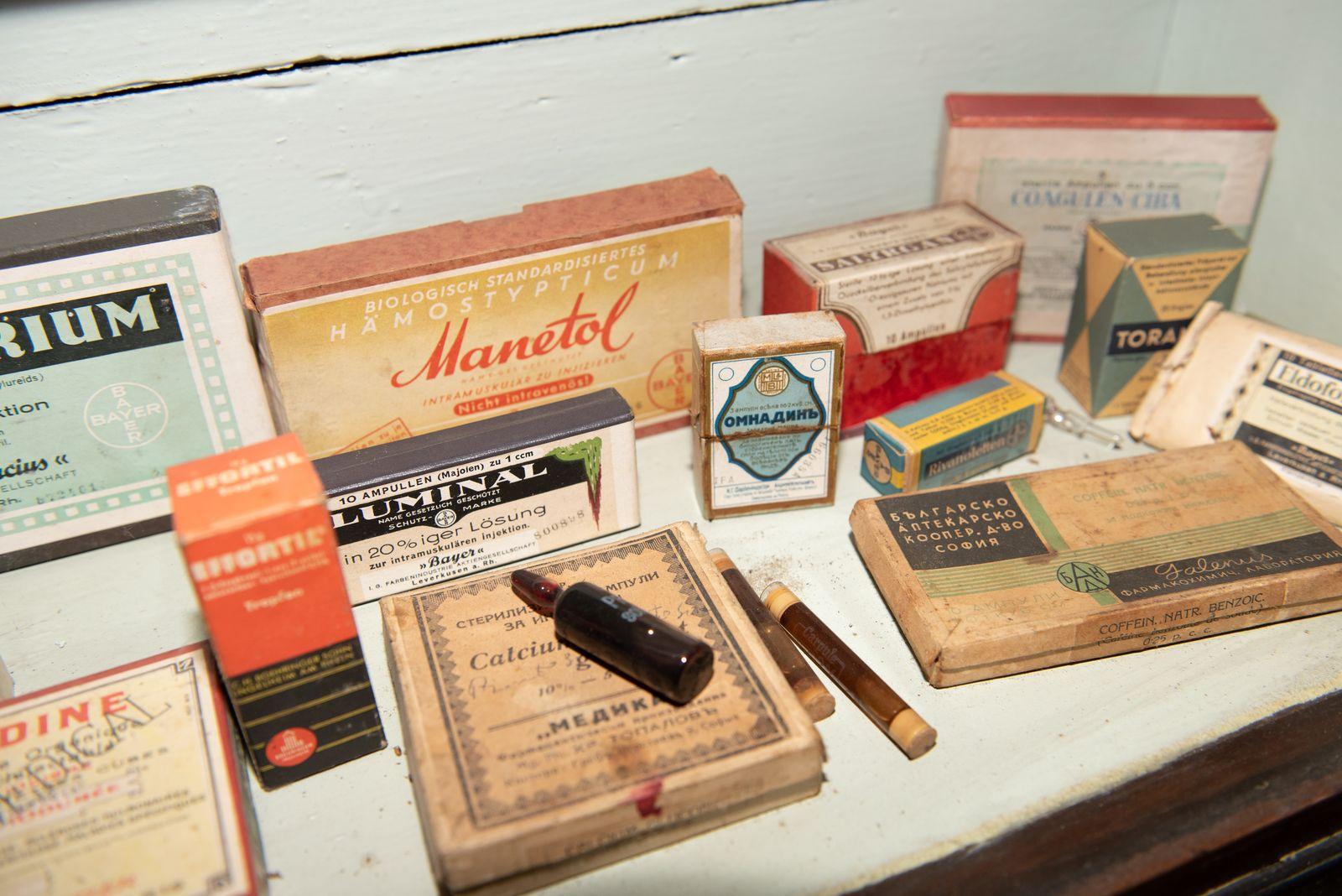 Muzei154_Лекарствени препарати от първата пол. на 20-ти век