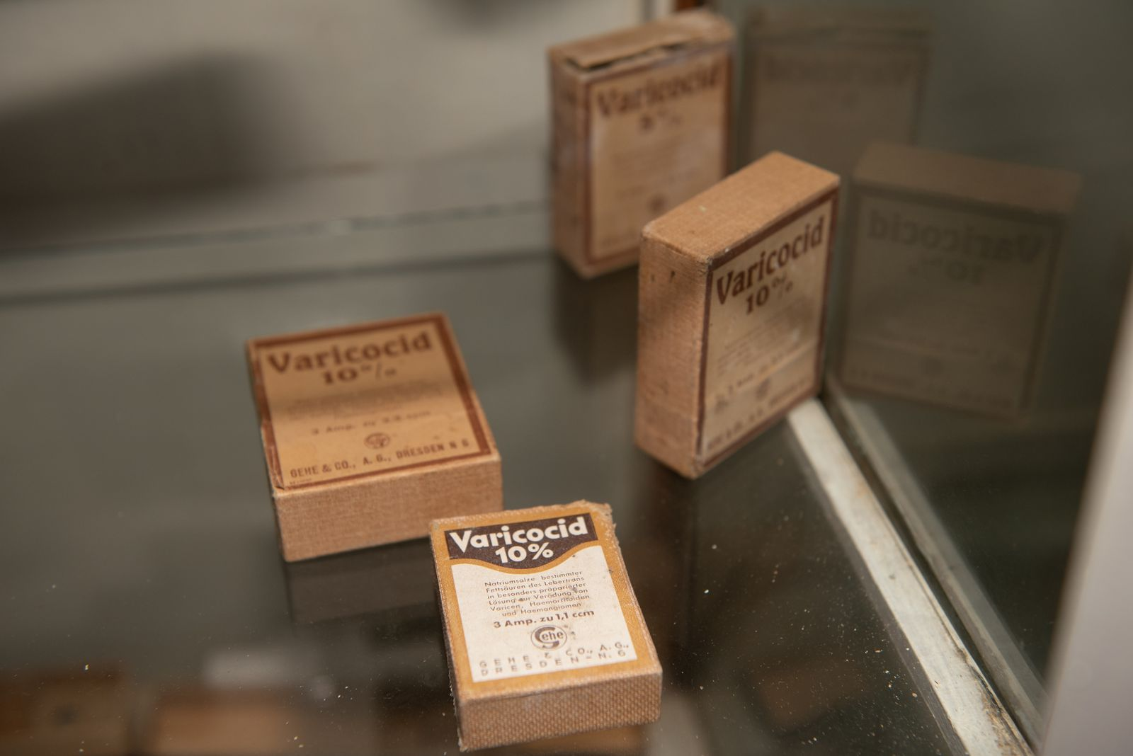 Muzei207_Лекарствени препарати от първата пол. на 20-ти век