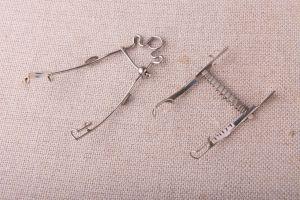 Muzei30_Клепачоразширители. Офталмологичени инструменти от средата на 20-ти век