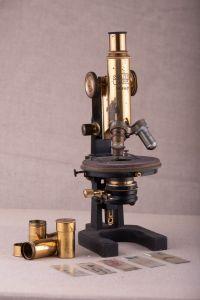 Muzei57_Микроскоп, Winkel –Zeiss Gotingenn с фаб. № 35143
