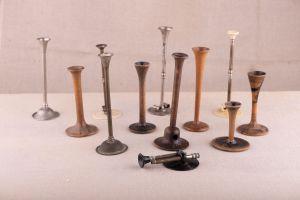 Muzei64_Колекция стетоскопи от края на 19-ти век и началото на 20-ти век