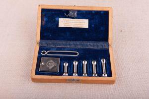 Muzei97_Инструмент за измерване на вътреочно налягане в кутия от първата половина на 20-ти век
