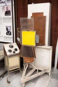 Muzei72_Рентгенов апарат от средата на ХХ в