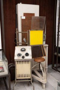 Muzei73_Рентгенов апарат от средата на ХХ в