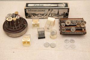 Muzei231_Зъболекарски монтирани пилители (сепаратори и борчета) и четки