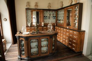Muzei138_Старинна аптека от края на XIX и началото на XX век