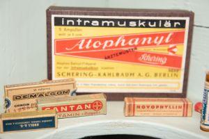Muzei149_Лекарствени препарати от първата пол. на 20-ти век