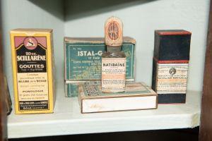 Muzei157_Лекарствени препарати от първата пол. на 20-ти век