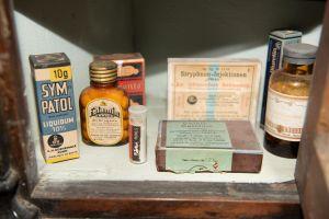 Muzei158_Лекарствени препарати от първата пол. на 20-ти век