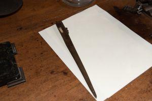 Muzei173_ Бронзов нож за рязне на хартия от първите години на 20-ти век