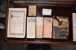 Muzei192_Позволително, плик за лекарства, рецепти и набор за печатане на етикети
